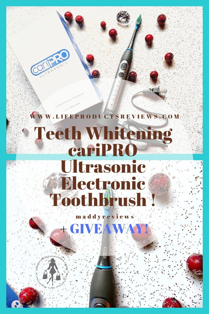 Teeth-Whitening-cariPRO-Ultrasonic-Electronic-Toothbrush-and-Giveaway