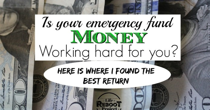 Get you nest egg emergency fund money performing the best it can. this is where I found the best return for the easiest liquidity. #liferebootproject #nesteggsavings #nesteggmonettips #nesteggmoney #nesteggmoneyretirement