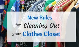 New Rules for Cleaning Out Your Clothes Closet