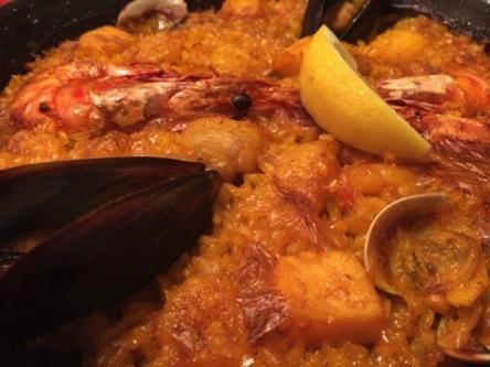 国際パエジャ大会世界第2位の『魚介類のパエジャ』は間違いなく美味しかった!《銀座エスペロ本店》