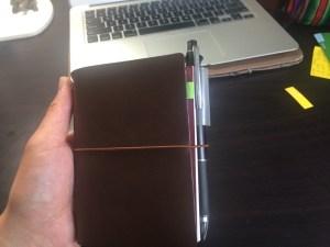 ほぼ日手帳好きがトラベラーズノートを使い始めたらこうなった!トラベラーズノートカスタマイズ方法!