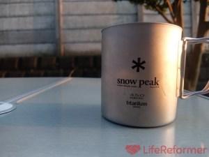 『スノーピーク チタンマグカップ』がない生活は考えられない!フタがあるとさらに便利!シングルとダブルの比較もやってみた!