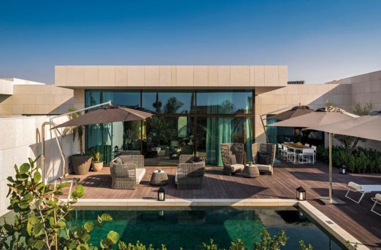 Bulgari Resort Dubai Beach Villa