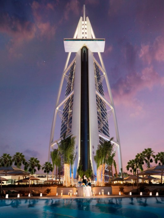 Burj Al Arab Jumeirah - Terrace View