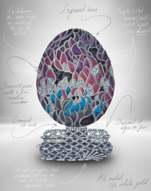 Fabergé x Game of Thrones Egg Closed