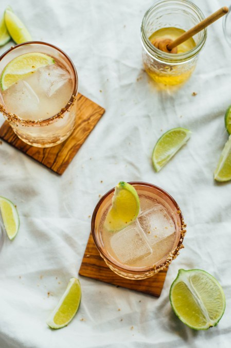 Honey & Smoke Mezcal Cocktail Tequila