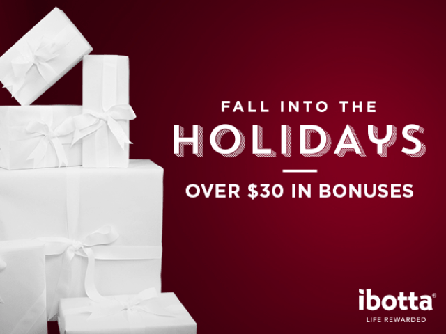 Fall Into the Holidays - Over $30 in Bonuses