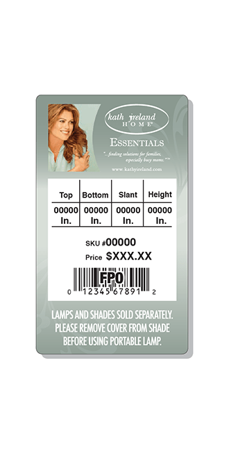 Print - Production - Retail - Hang Tag Design - Client: Confidential