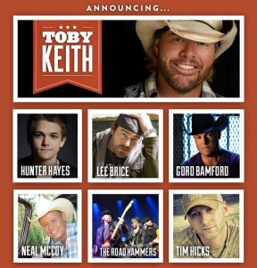 2014 Boots and Hearts Lineup