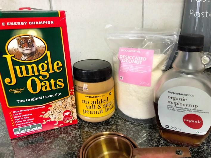 No bake vegan cookie ingredients