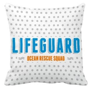 Lifeguard Kussen Reddingsbrigade ocean