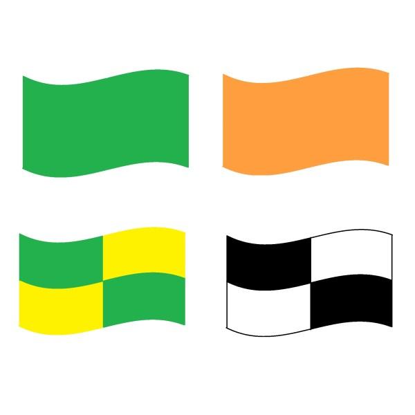vlaggen wedstrijd lifesaving ocean