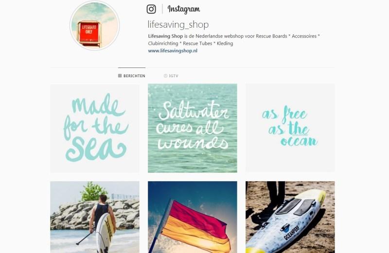 Lifesaving Shop instagram