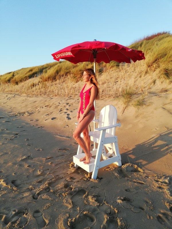 Lifeguard badpak rood - lifesaving shop