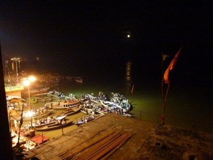 The Ghats at Night