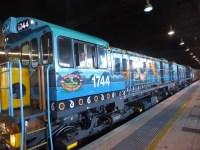 Locomotives with Buda-dji Dreamtime images