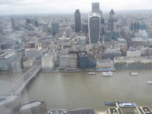 London from the Shard