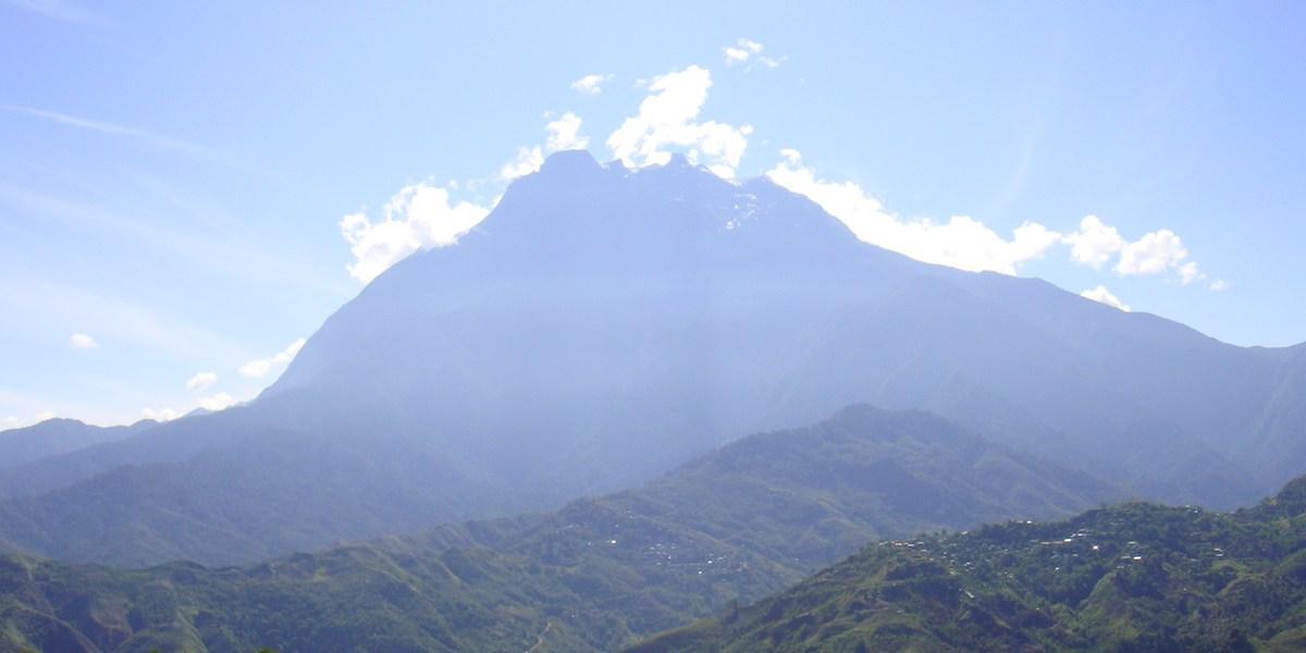 ボルネオのキナバル山