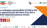 Sviluppo sostenibile PMI e PA: opportunità del NextGenEU e digitalizzazione smart