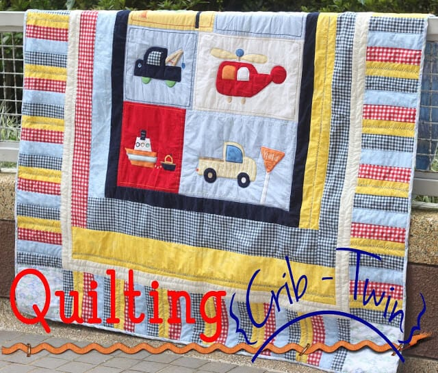 crib to twin quilt