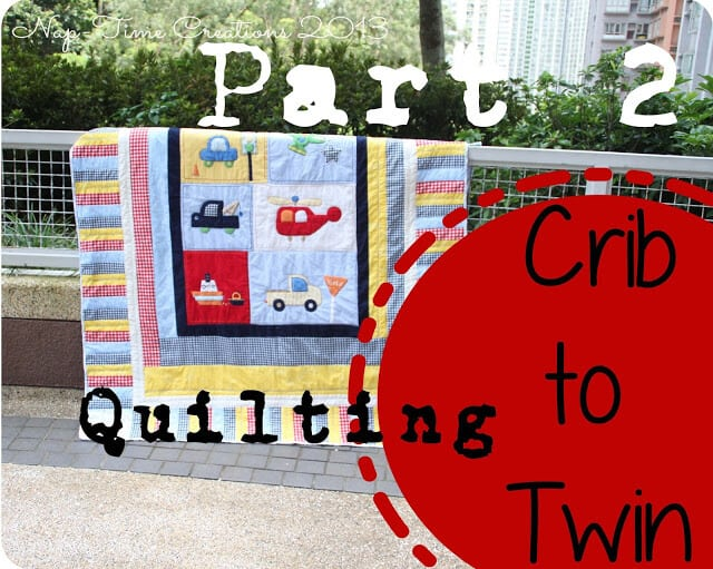 Upcycled Quilt