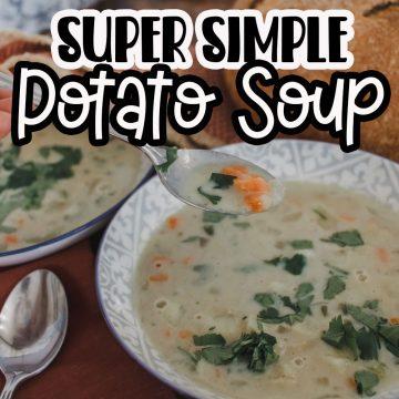 Light Potato Soup