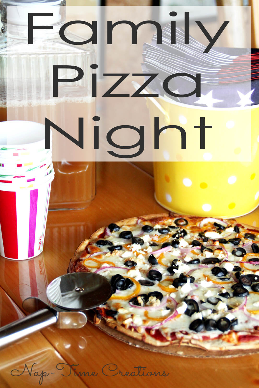Family Pizza Night Life Sew Savory