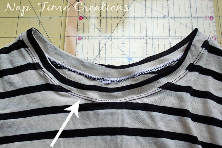 Free Womens T-Shirt Pattern 3
