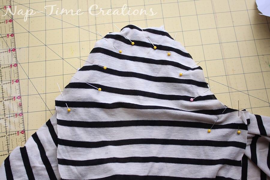Free Womens T-Shirt Pattern 5
