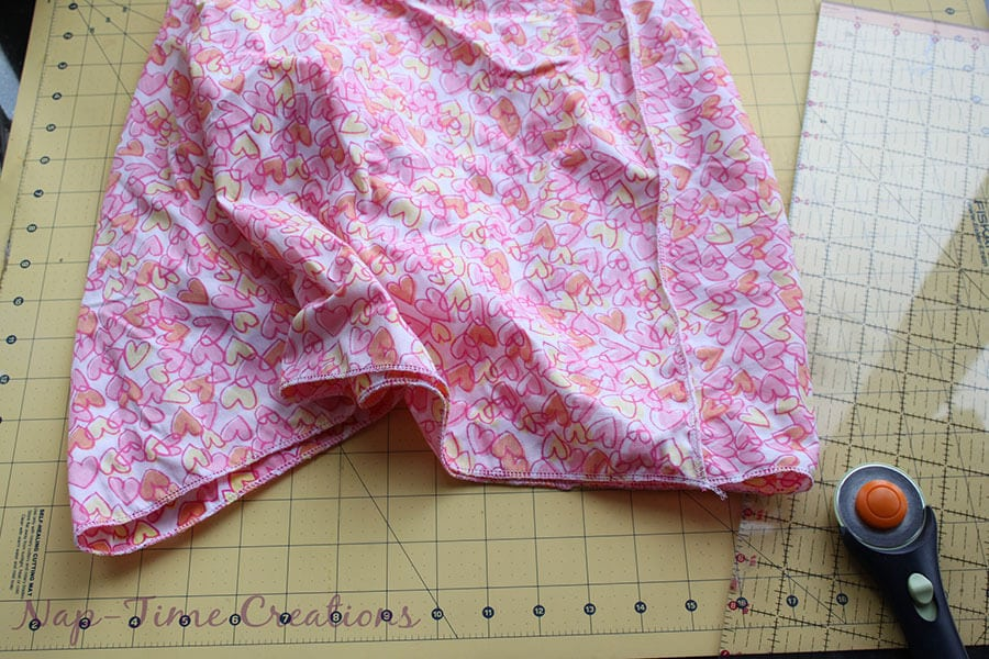 cotton and tulle skirt tutorial 10
