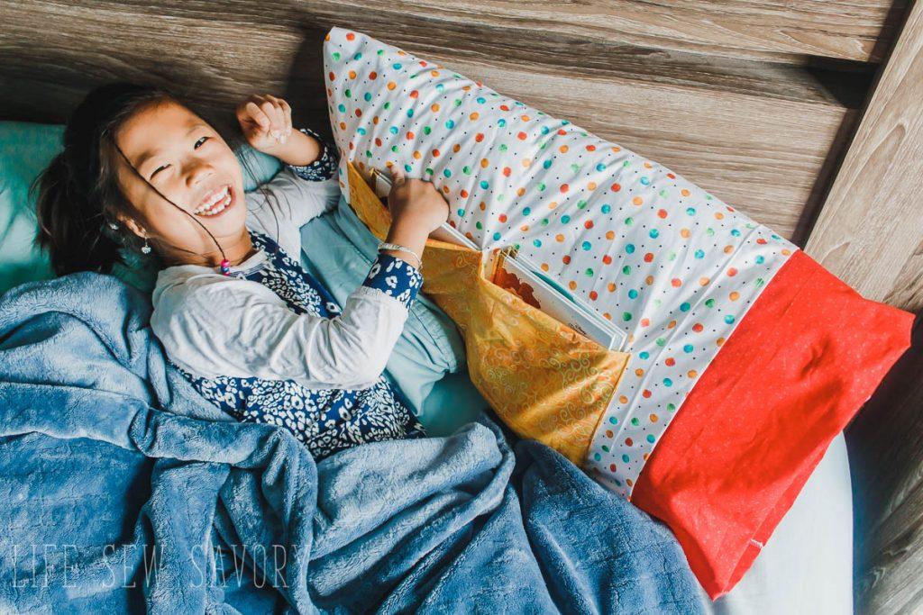 diy kids reading pillow life sew savory