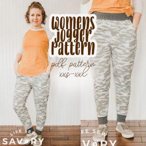 Womens Jogger Pattern FREE