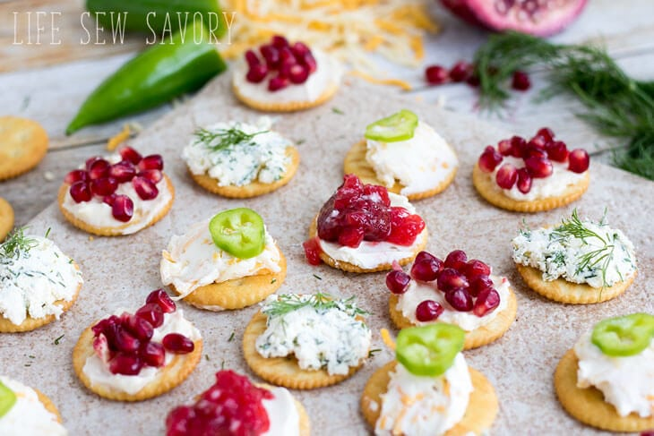 best cracker topping recipes