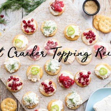 best-cracker-toppings