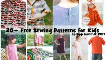 0c2dab0e8 Sewing Patterns for Kids - Free for Summer - Life Sew Savory