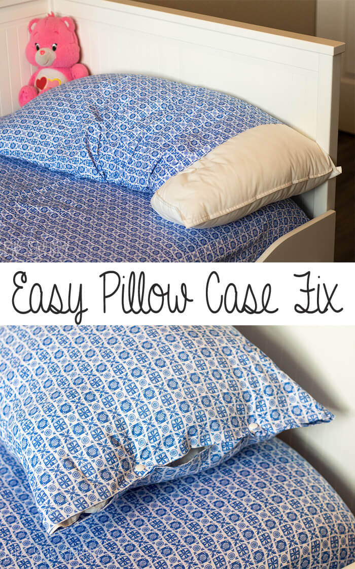 Kids Pillow Case Fix tutorial from Life Sew Savory
