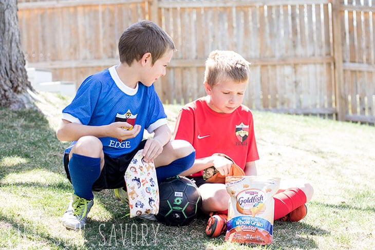 Easy on the go snacking with Goldfish