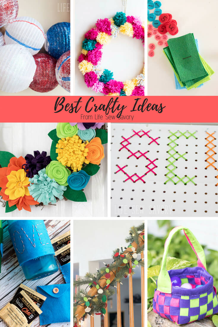 The Best Crafts from Life Sew Savory