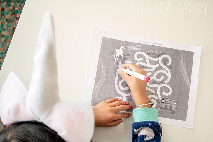unicorn printable activities