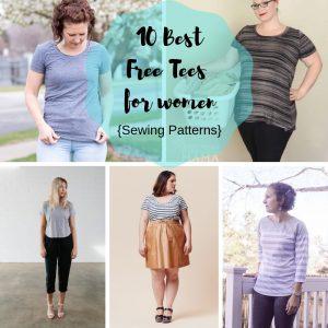 Free Sewing Patterns - Best Womens T Shirts