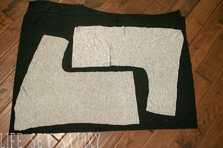 cardigan cutting guide