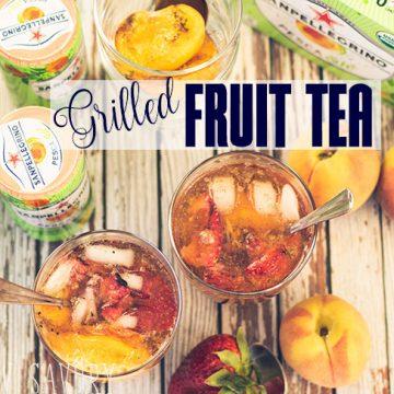 Grilled Fruit tea recipe for summer