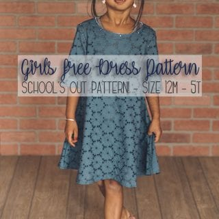 free dress sewing pattern for Girls