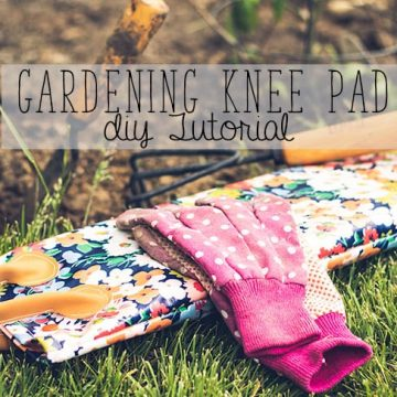 Make your own gardening knee pad