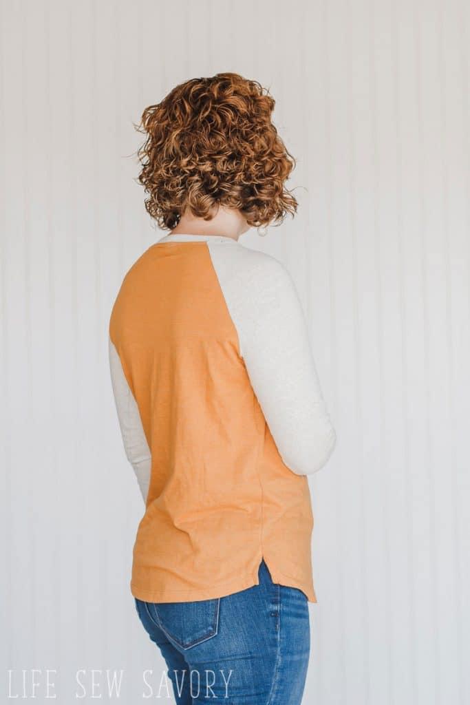 Womens Raglan free sewing pattern