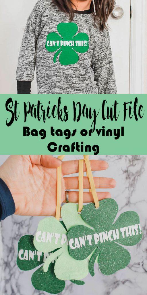 DIY Keychain + St. Patricks Day FREE SVG files from Life Sew Savory