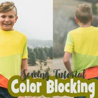 Color Blocking Basics - Sewing Tutorial