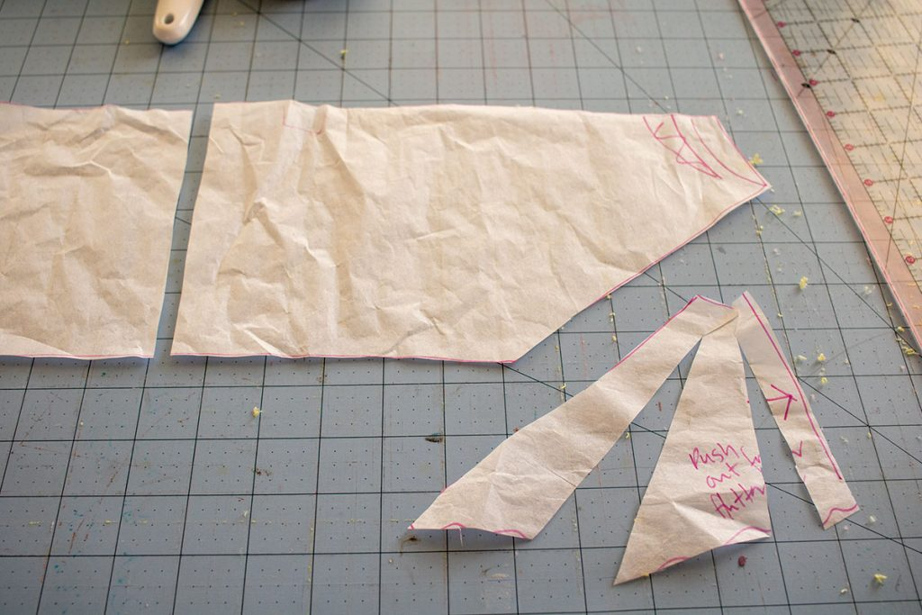 pattern hack for rash guard sewing
