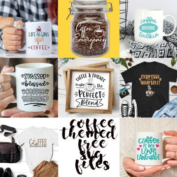 Best Coffee themed SVG files free