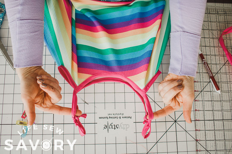 how to cut a circle dress